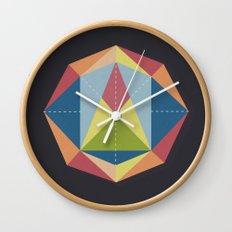 Prisme 1 Wall Clock