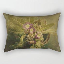 Little Winter Flower Rectangular Pillow