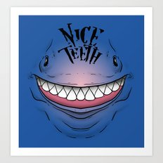 Nice Teeth Art Print