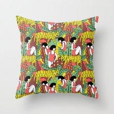 Tiger Pattern Throw Pillow