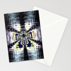 Purple Space Stationery Cards