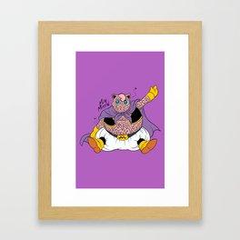 Majin Puff Framed Art Print
