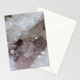 Silver & Quartz Crystal Stationery Cards