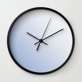 ombre in serenity Wall Clock