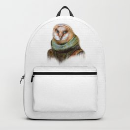Animals - Funny Owl Painting Backpack