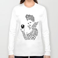 evil queen Long Sleeve T-shirts featuring The Evil Queen by Achiib