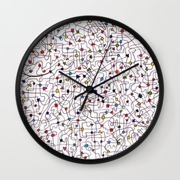 The Brain Number Three Wall Clock