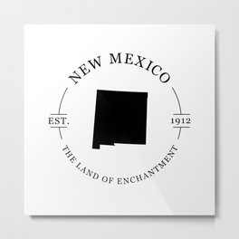 New Mexico - The Land of Enchantment Metal Print