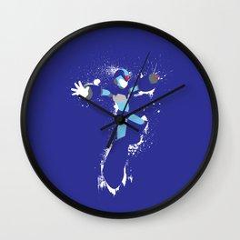 Mega Man X Splattery Design Wall Clock