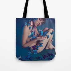 Butterfly Fly Free Tote Bag