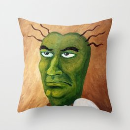 The Handsomest Man in O-Town Throw Pillow
