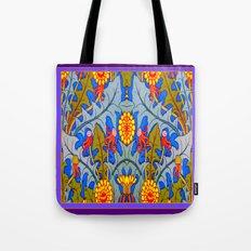 Vintage Nouveau Dandelion  Art Design. Tote Bag