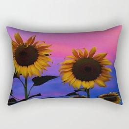 Sunflower Daydream II Rectangular Pillow