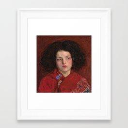 Ford Madox Brown - The Irish Girl [1860] Framed Art Print