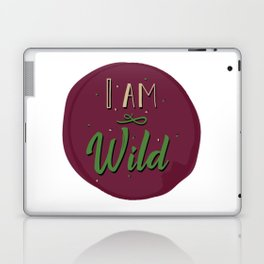 """I am wild,"" replied Grantaire. Laptop & iPad Skin"