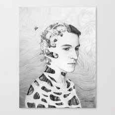 Self-Portrait: Human Nature Canvas Print