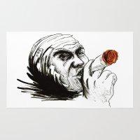 cigarette Area & Throw Rugs featuring Cigarette by Anna Pietrawska