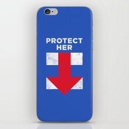 Protect Her iPhone Skin