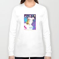 posters Long Sleeve T-shirts featuring Paris Posters - Hermez by G_Stevenson