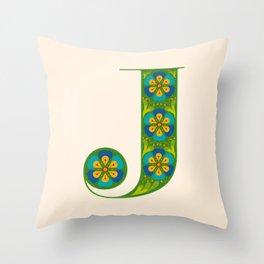 J - Amarilis Throw Pillow