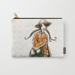 Cozy country walk Carry-All Pouch