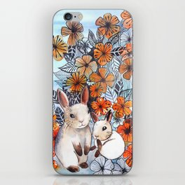 Easter Bunnies iPhone Skin