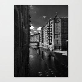 Speicherstadt Canvas Print