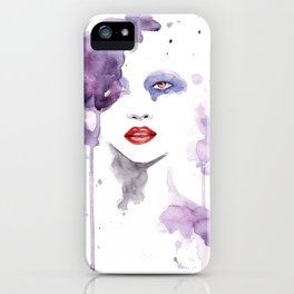 Red Eyes Red Lips two iPhone Case