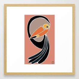 Toucan Down Framed Art Print