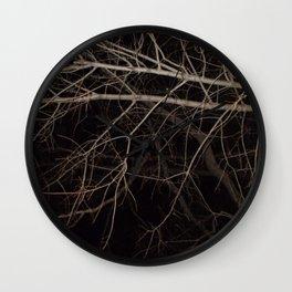 Nature's Veins Wall Clock