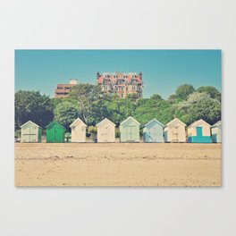 in a row Canvas Print