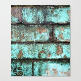 Urban Ruin Canvas Print