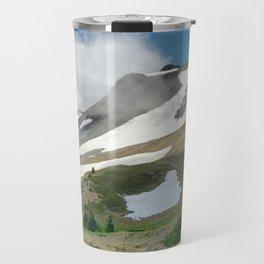 Mount Rainer Wonderland Travel Mug