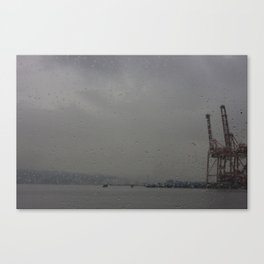 Seabus window Canvas Print