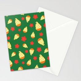 Tiki Birds Ice Cream Date Stationery Cards
