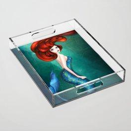 Mermaid Acrylic Tray