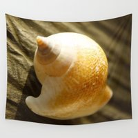 shell Wall Tapestries featuring Shell by Roxie Torii