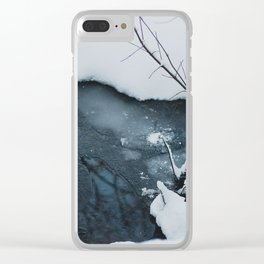 Portland Snowpocalypse I Clear iPhone Case