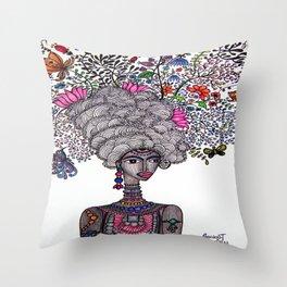 Beautiful Burden Throw Pillow
