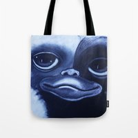 gizmo Tote Bags featuring GIZMO by John McGlynn