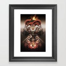 Pyropriest Framed Art Print