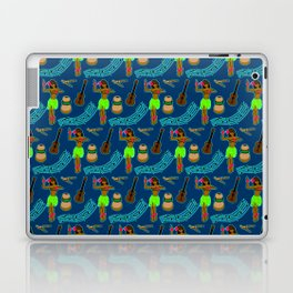 Hawaii Pattern #2 in Blue Laptop & iPad Skin