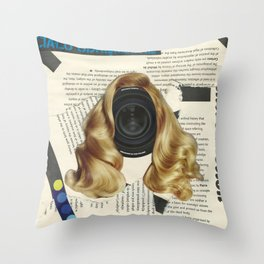 introduction (racked body/ciało udręczone) Throw Pillow