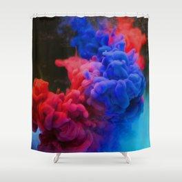 Colorful Smoke Screen Shower Curtain