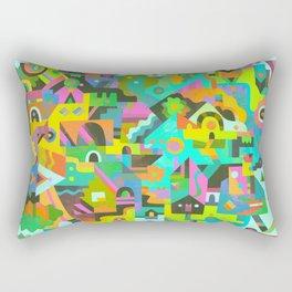 Neighbourhood Rectangular Pillow