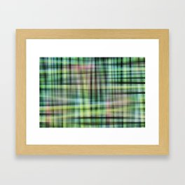 Modern Scottish Tartan Plaid Pattern Framed Art Print