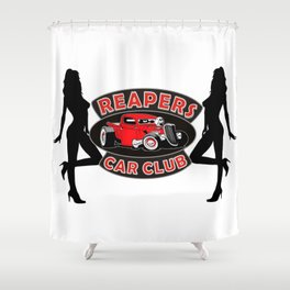 REAPERS CAR CLUB INTERNATIONAL Shower Curtain