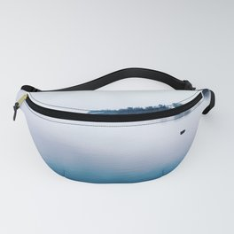 Foggy Georgetown Waterfront Fanny Pack