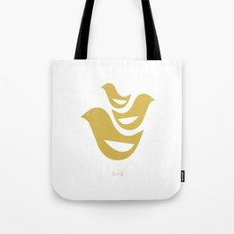 woodland friends- birds Tote Bag
