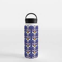 Retro Flower Water Bottle